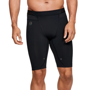 Men's Running Tights Under Armour Rush Compression Short Tights  Black 13276460001