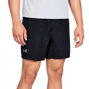 Men's Running Short Under Armour Speed Stride Solid 7in Short  Black 13265680001