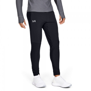 Men's Running Tights Under Armour Qualifier Speedpocket Pants  Black 13419370001