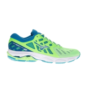 Men's Neutral Running Shoes Mizuno Wave Ultima 11  Green Gecko/Blue Sapphire/White J1GC190916