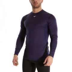 Mizuno Mid Weight Crew Shirt - Astral Aura