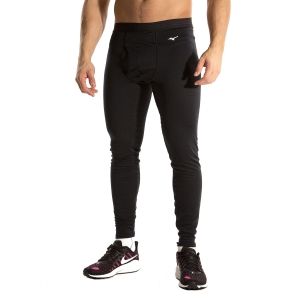 Medias Intimas Hombre Mizuno Mid Weight Tights  Black A2GB955309
