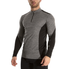 Mizuno Virtual Body G2 Shirt - HeatherGrey/Black