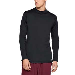 Men's Fitness & Training Shirt and Hoodie Under Armour ColdGear Shirt  Black 13208050001