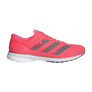 Men's Performance Running Shoes Adidas Adizero Adios 5  Signal Pink/Core Black/Copper Met EG4667