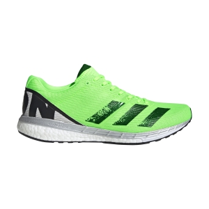 Scarpe Running Performance Uomo Adidas Adizero Boston 8  Signal Green/Core Black/Grey One F17 EG7894
