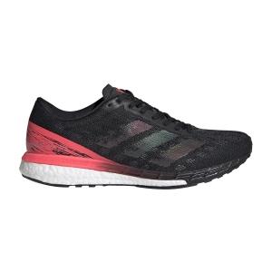 Adidas Adizero Boston 9 - Core Black/Signal Pink