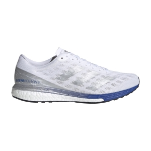 Scarpe Running Performance Uomo Adidas Adizero Boston 9  Ftwr White/Silver Met/Team Royal Blue EG4672