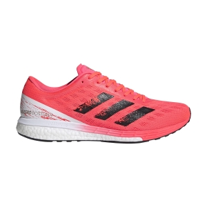 Scarpe Running Performance Uomo Adidas Adizero Boston 9  Signal Pink/Core Black/Copper Met EG4671