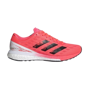 Adidas Adizero Boston 9 - Signal Pink/Core Black/Copper Met