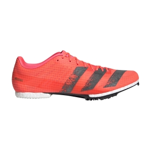 Men's Race Running Shoes Adidas Adizero MiddleDistance  Signal Coral/Core Black/Copper Metallic EG6160
