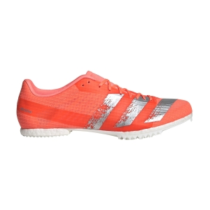 Men's Race Running Shoes Adidas Adizero MiddleDistance  Signal Coral/Silver Met./Ftwr White EE4605