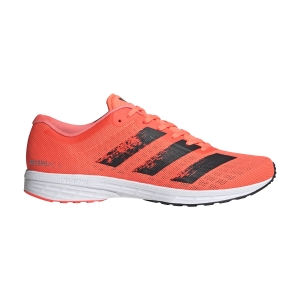Men's Race Running Shoes Adidas Adizero RC 2  Signal Coral/Core Black/Ftwr White EG1188