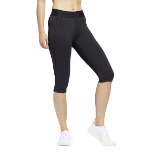 Women's Running Tight Adidas Alphaskin Sport Capri  Black/White FJ7169