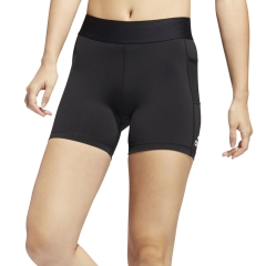 Adidas Alphaskin Sport 3in Pantaloncini - Black/White