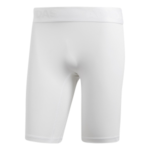 Pant Running Uomo Adidas Alphaskin Sport Short Tights  White CD7184