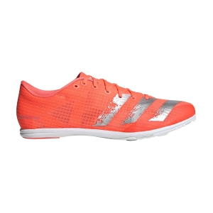 Men's Race Running Shoes Adidas Distancestar  Signal Coral/Signal Coral/Silver Metallic EE4671