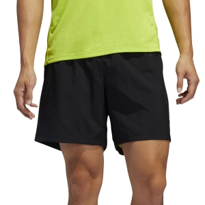 Pantalones cortos Running Hombre Adidas Own The Run 2.0 4in Shorts  Black/Semi Solar Slime FL69565in