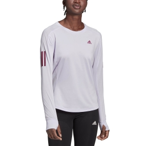Maglia Running Donna Adidas Own The Run Response Maglia  Purple Tint GC6645