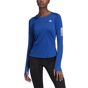 Maglia Running Donna Adidas Own The Run Response Maglia  Team Royal Blue GC6644
