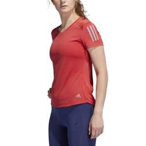 Women's Running T-Shirts Adidas Own The Run TShirt  Glory Red FL7813