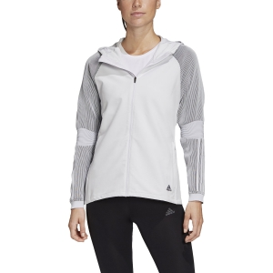 Women's Running Jacket Adidas PHX II Jacket  Dash Grey/Black FK5096