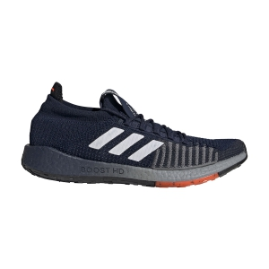 Scarpe Running Neutre Uomo Adidas Pulseboost HD  Collegiate Navy/Cloud White/Solar Red EG0979
