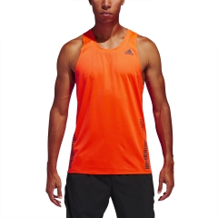 Adidas Rise Up N Run Canotta - Solar Red