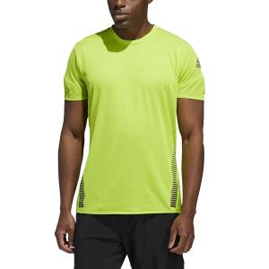 Adidas Rise Up N Run T-shirt - Semi Solar Slime