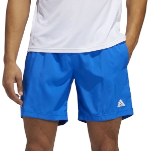 Adidas Run It 3 Stripes 5in Pantaloncini - Glory Blue