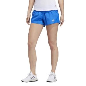 adidas Run It 3-Stripes 4in Shorts - Glory Blue