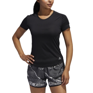 Women's Running T-Shirts Adidas Run It TShirt  Black FL7802