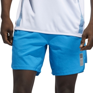 Pantalones cortos Running Hombre adidas Saturday Primeblue 7in Shorts  Sharp Blue FJ68187in