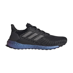 Scarpe Running Neutre Uomo Adidas Solarboost 19 ISS National Lab Edition  Core Black/Solar Red EG2363