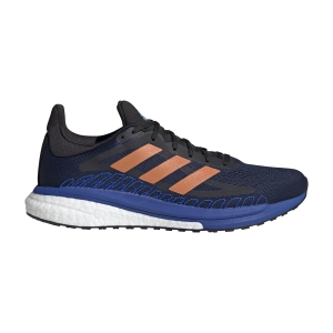 Men's Structured Running Shoes Adidas Solar Glide ST 3  Collegiate Navy/Signal Orange/Team Royal Blue FV7251