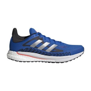 Men's Neutral Running Shoes Adidas Solar Glide 3  Football Blue/Silver Metallic/Solar Red FY0363