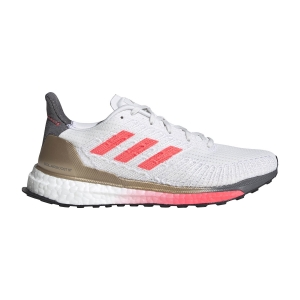 Scarpe Running Stabili Donna Adidas Solarboost ST 19  Crystal White/Signal Pink/Copper Met FW7805