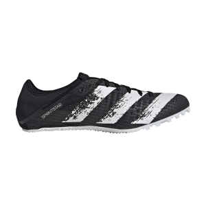 Men's Race Running Shoes Adidas Sprintstar  Core Black/Ftwr White/Signal Coral EG1199