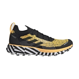 Scarpe Trail Running Uomo Adidas Terrex Two Parley  Solar Gold/Core Black/Cloud White FW7141