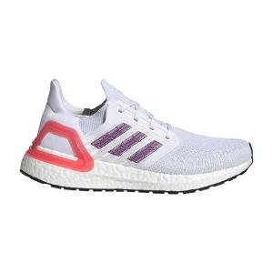 Adidas Ultraboost 20 - Ftwr White/Glory Purple/Echo Pink