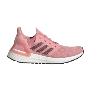 Scarpe Running Neutre Donna Adidas Ultraboost 20  Glory Pink/Maroon/Signal Coral EG0716