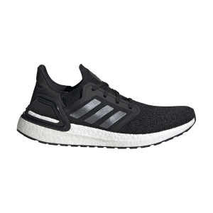 Men's Neutral Running Shoes Adidas Ultraboost 20  Core Black/Night Metallic/Cloud White EF1043