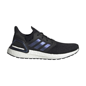 Scarpe Running Neutre Uomo Adidas Ultraboost 20 ISS National Lab Edition  Core Black/Boost Blue Violet Metallic/Ftwr White EG0692