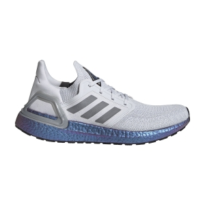 Scarpe Running Neutre Uomo Adidas Ultraboost 20 ISS National Lab Edition  Dash Grey/Grey Three F17/Boost Blue/Violet Metallic EG0755