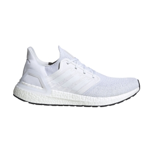 Scarpe Running Neutre Uomo Adidas Ultraboost 20  Ftwr White/Grey Three/Core Black EF1042