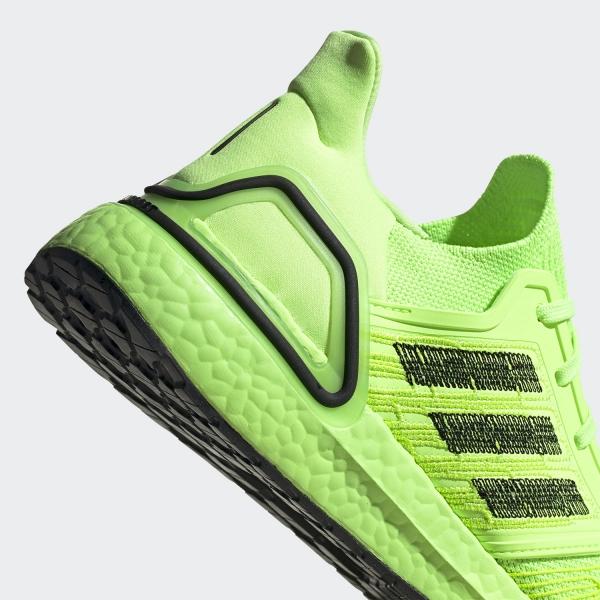Adidas Ultraboost 20 Signal GreenCore BlackSignal Green