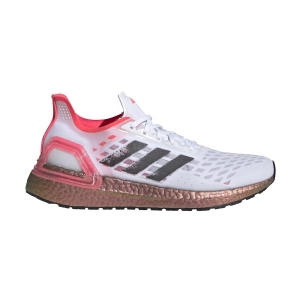 Zapatillas Running Neutras Mujer Adidas Ultraboost PB  Ftwr White/Core Black/Signal Pink EG5917