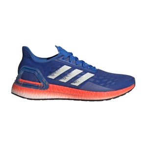 Scarpe Running Neutre Uomo Adidas Ultraboost PB  Glory Blue/Core White/Solar Red EF0893
