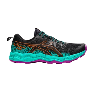 Zapatillas Trail Running Mujer Asics Fujitrabuco Lyte  Black/Baltic Jewel 1012A599002