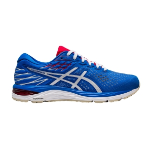 Men's Neutral Running Shoes Asics Gel Cumulus 21 Retro Tokyo  Electric Blue/White 1011A787400